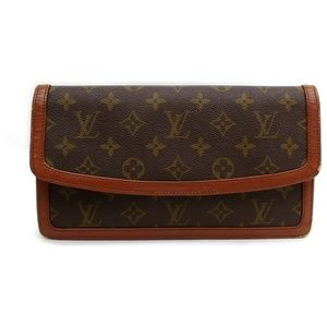 Authentic Louis Vuitton Clutch Dame PM vintage